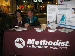 DOVIA members from Methodist Hospice