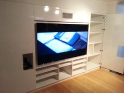 Custom Made, Built-In Entertainment Unit.