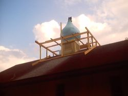 Did repairs to Dome