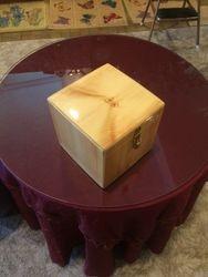 cube box closed