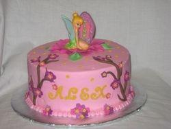 Alex's Tinkerbell Cake