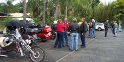 Morning Tea Break at Ginger Factory on Kin Kin Ride - Nov 2003