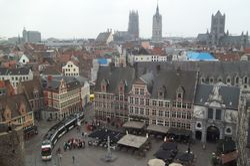 Landmarks of Ghent,