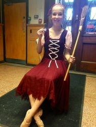 Ellie Mulry as Cinderella