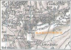 Stourbridge/Lye. 1833.