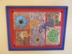 mirror grid collage