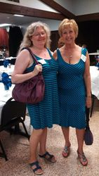 Vickie Martin Clark and Jeanne Clark