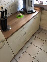 Nischenlösung Küchen Schrank Zeile