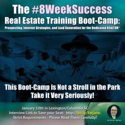 Only 4 Seats remain Available - Boot-Camp Registration closing soon... #8WeekSuccess
