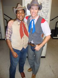 Zeke and Will Parker
