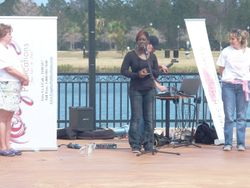Mrs. Tranell Steward of LifeJus4U, LLC an organization against bullying