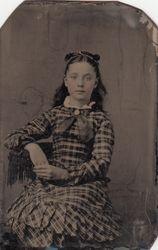 Tintype School Girl Plaid Dress