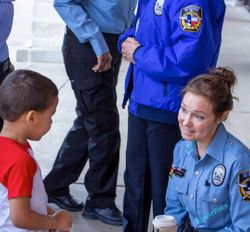 An Intimate Visit with Civilian PatrolWoman, Kelley.