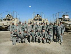 Shaun Miller Unit in Kuwait