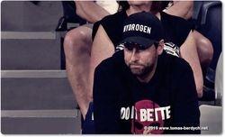 Tomas Berdych's coach Martin Stepanek