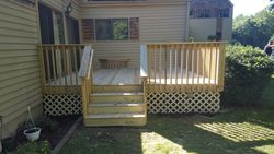 After Deck rip and rebuild Granby