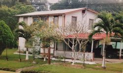 MY PARENTS HOME IN BELIZE. I GREW UP IN THIS HOUSE.