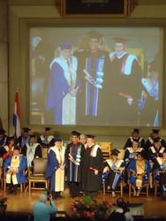 La collation des Ph.D. Université de Montréal / Ph.D. Convocation Ceremony University of Montreal