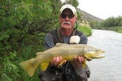 "23 "" Brown Ruby River, MT"