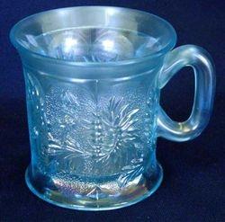 Dandelion mug, ice blue Knights Templar