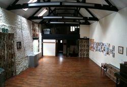 St. James' Church Barn ~ inside