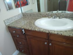 Applied grout