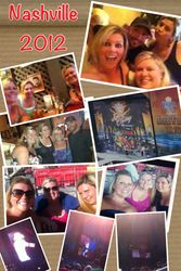 A collage of the Nashville trip!
