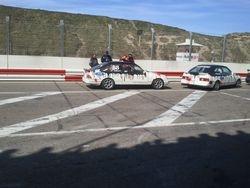 opstellen race 1 (starten vanuit de pitstraat op plek 43)