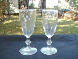 W Wineglasses