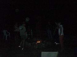 Orbs at Fire Ceremony