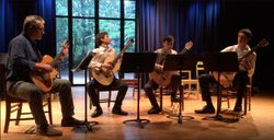 NMS Guitar Quartet, May 2015.