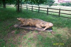 Otter sculpture, Belstead Brook Park