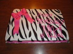 Zebra Print with Bow