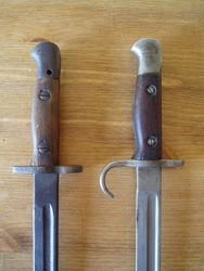 Convert your 07 pattern bayonet into a Hooked Qulion type £55