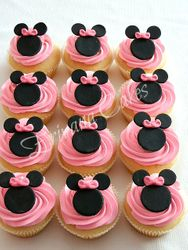 Minnie Mouse Cupcakes 2