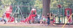 Playground equipment installed -1990's