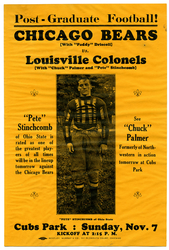 1926 Chicago Bears vs. Louisville Colonels