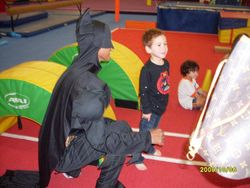 Batman and children