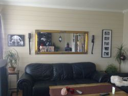 Both the frames in my living room