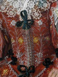 Hals, Shrovetide Merry Makers, detail, Met