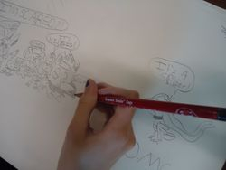 Constant cartooning!