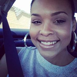 Demetria McKinney Heading Out To Go Get Her Massage In Vegas!