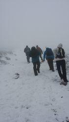 Snowy Llanberis Path