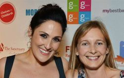 Ricki Lake thanks me for contributing a portion of my La Luna Mama sales to My Best Birth