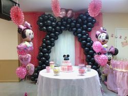 Mini Mouse Balloon Atructure