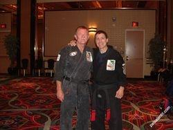 Bob White and Pat Salantri (CEO IKKA)