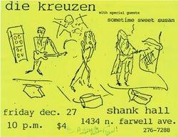 1991-12-27 Shank Hall, Milwaukee, WI