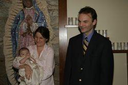 Godparents Aunt Susanne and Uncle Scott