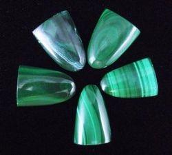 09-00340 Malachite Polished Tongues