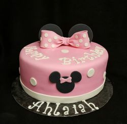 Minnie Mouse with Bow and Ears